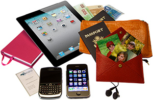 Must Haves--Passports, local currency, iPad