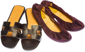 Footwear -- Two pairs of shoes