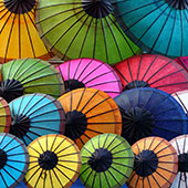Umbrellas by Tom Jow