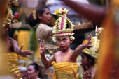 Balinese Dancers by Marianne Thomas