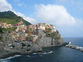 Manarola by Steve Agelopoulos