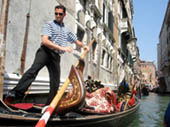 Gondolier by Cathy Schlecter