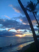 Maui Sunset by Emily Dunnagan