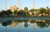 Blue Mosque Reflection by Theresa Wrobel