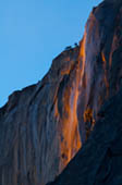 Horsetail Falls at Sunset by Doug Croft