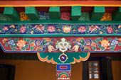 Tibet Summer Palace Detail by Susan Marie Davis