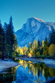 Half Dome in November by Doug Croft