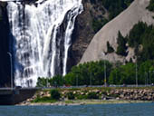 Montmorency Waterfall by Gerald Boudreau